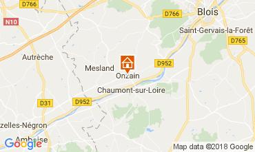 Map Onzain Mobile home 113114