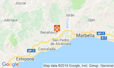 Map Marbella Apartment 117350