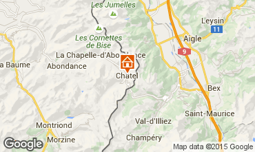 Map Ch�tel Apartment 57319