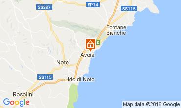 Map Avola Apartment 75699