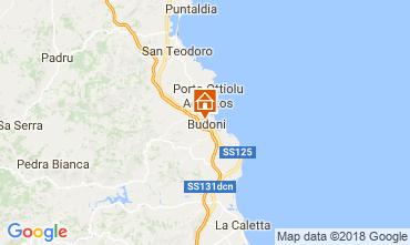 Map Budoni Villa 115050