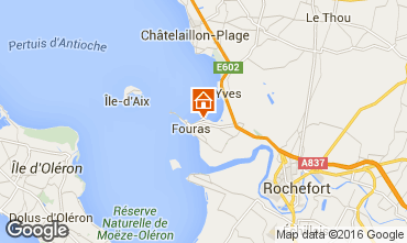 Map Fouras Villa 94430