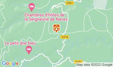Map Les Vans House 119354