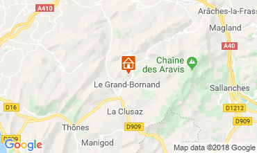 Map Le Grand Bornand Chalet 116902