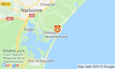 Map Gruissan-Plage Chalet 119268
