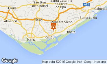 Map Olhão Apartment 21809