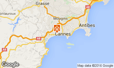 Map Cannes Apartment 102946