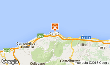 Map Cefalù One-room apartment 65168