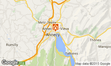 Map Annecy Apartment 94359