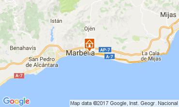 Map Marbella Villa 111253