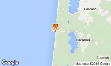 Map Lacanau Chalet 6693