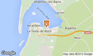 Map Arcachon Mobile home 102365