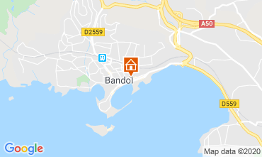 Map Bandol One-room apartment 40335