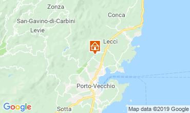 Map Porto Vecchio Bungalow 118168