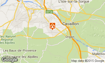 Map Saint Rémy de Provence Vacation rental 11846