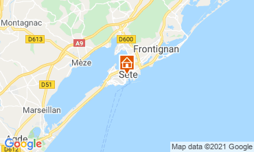 Map Sete One-room apartment 115750