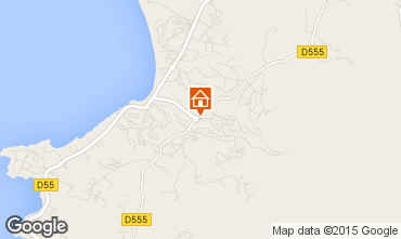 Map Ajaccio House 7844