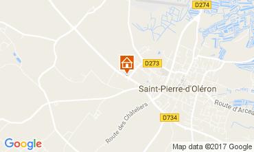 Map Saint Pierre d'Oléron House 108163