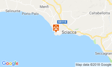 Map Sciacca Apartment 111247