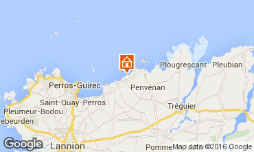 Map Perros-Guirec House 96940