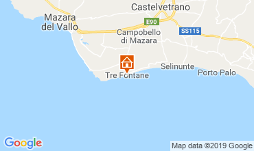 Map Selinunte Villa 105374