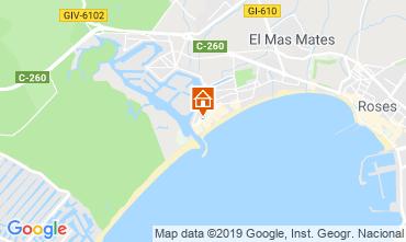 Map Rosas Apartment 119543