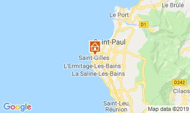 Map Saint Gilles Vacation rental 110815