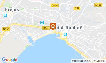 Map Fréjus Apartment 104565