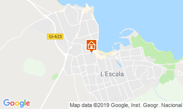 Map L'escala Apartment 118585