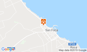 Map San Foca Apartment 108902