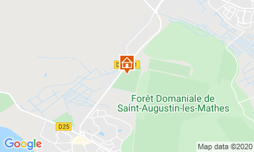 Map Les Mathes Mobile home 11032