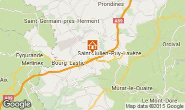 Map La Bourboule House 11843