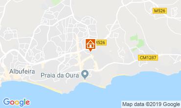 Map Albufeira Apartment 111569