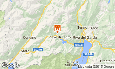 Map Ledro Apartment 51708