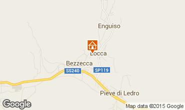 Map Ledro Apartment 51708