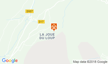 Map La joue du Loup Apartment 91383