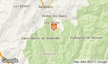 Map Méribel Apartment 73566