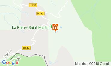Map Arette La Pierre Saint Martin One-room apartment 117026