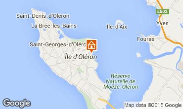 Map Saint Pierre d'Oléron Villa 6880