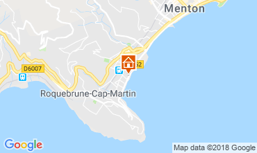 Map Menton Apartment 117152