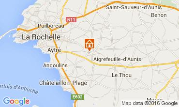 Map La Rochelle One-room apartment 104636