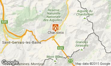 Map Chamonix Mont-Blanc One-room apartment 667