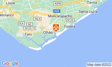 Map Olhão House 72249
