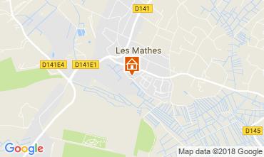 Map Les Mathes House 82651