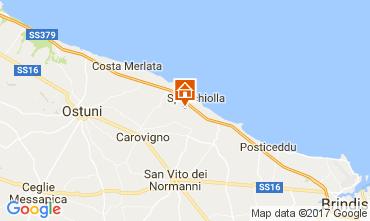 Map Ostuni Villa 109477