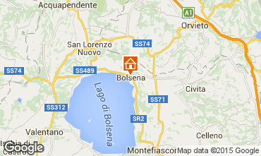 Map Bolsena Apartment 70703