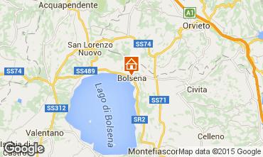 Map Bolsena Apartment 70703