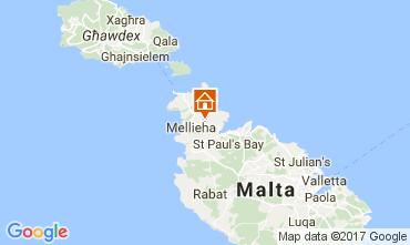 Map Mellieha Villa 31305