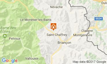 Map Serre Chevalier Apartment 107846