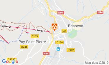 Map Briançon Apartment 82894